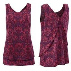 CAbi Cameo Top Sleeveless #3258